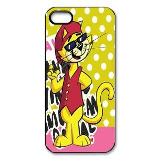 Mystic Zone Cute Cat iPhone 5 Case for iPhone 5 Cover Cartoon Fits Case WSQ0082: Cell Phones & Accessories