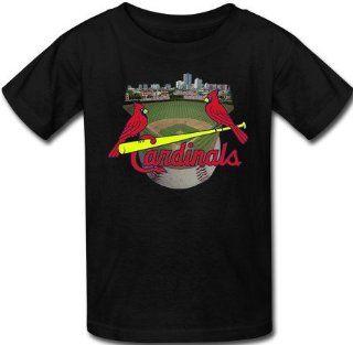 Victory MLB St. Louis Cardinals Men's Short Sleeve Black T shirt Cardinals Tee Shirt (Black, M)  Sporting Goods  Sports & Outdoors