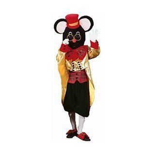 Christmas Mouse Adult Deluxe Mascot Costume Size Medium: Clothing