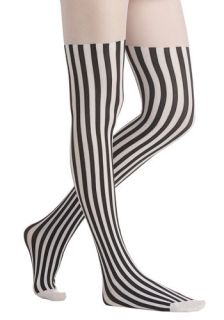 Vertical Vogue Tights  Mod Retro Vintage Tights