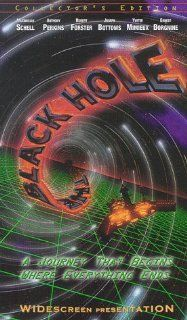 The Black Hole [VHS]: Maximilian Schell, Anthony Perkins, Robert Forster, Joseph Bottoms, Yvette Mimieux, Ernest Borgnine, Tom McLoughlin, Roddy McDowall, Gary Nelson, Slim Pickens, Frank V. Phillips, G. Gregg McLaughlin, Ron Miller, Bob Barbash, Gerry Day