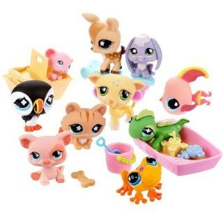 Littlest pet Shop 10 pack of Pets Assortment Toys & Games