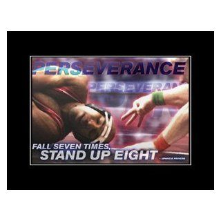 Wrestling Motivational Poster Perserverance : Prints : Everything Else