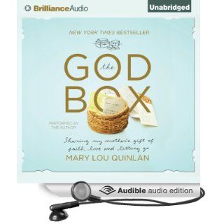 The God Box Sharing My Mother's Gift of Faith, Love, and Letting Go (Audible Audio Edition) Mary Lou Quinlan Books
