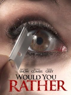 Would You Rather: Brittany Snow, Jeffrey Combs, Sasha Grey, David Guy Levy:  Instant Video