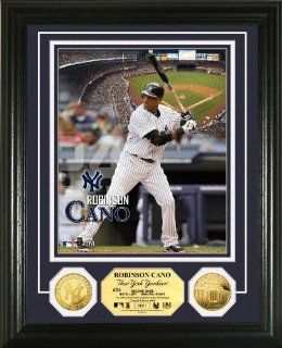 New York Yankees Robinson Cano Gold Coin Photo Mint : Sports Related Collectible Photomints : Sports & Outdoors