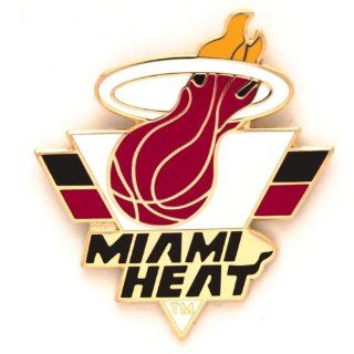 MIAMI HEAT OFFICIAL LAPEL PIN : Sports Related Pins : Sports & Outdoors