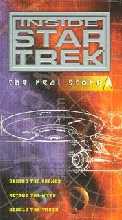 Inside Star Trek   The Real Story [VHS]: Alexander Courage, Kellam de Forest, Marj Dusay, Fred Freiberger, James Goldstone, Walter M. Jefferies, George Clayton Johnson, Robert H. Justman, James Komack, Nichelle Nichols, Leonard Nimoy, Joseph Pevney, Donald