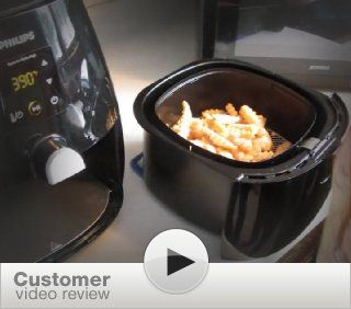 Philips HD9230/26 Digital AirFryer with Rapid Air Technology, Black: Kitchen & Dining