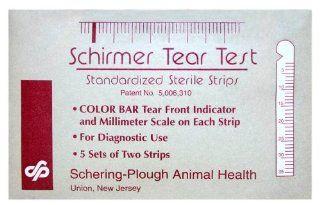 Schirmer Tear Test, 5 sets of 2 strips each