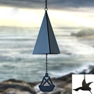 North Country Wind Bells Puget Sound Bell ™ with Red Crab   2 Tones : Wind Noisemakers : Sports & Outdoors