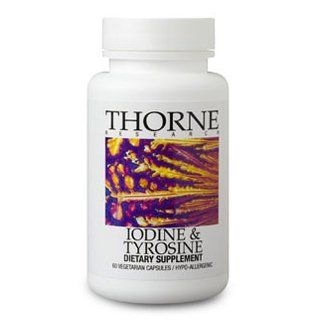Thorne Research Iodine & Tyrosine, 60 Vegetarian Capsules (FFP): Health & Personal Care