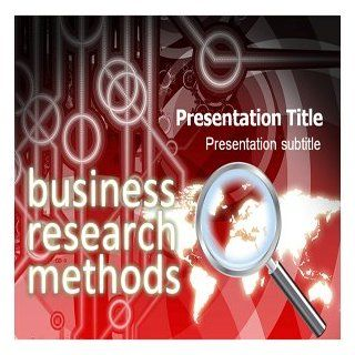 Business Research Methods Powerpoint Template   Business Research Methods Powerpoint (PPT) Template Software