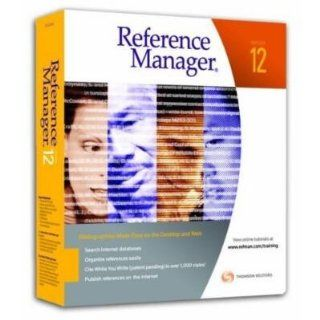 Thomson ResearchSoft Reference Manager v.12.0   Complete Product   1 User (6126)