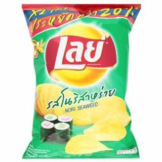 Lays Nori Seaweed Potato Chips. Emotions Japan's Really. Best Seller in Thailand. (80g/2.9 Oz): Everything Else