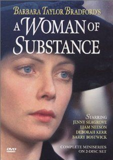 Barbara Taylor Bradford's A Woman of Substance: Jenny Seagrove, Barry Bostwick, Deborah Kerr, Diane Baker, Peter Chelsom, John Duttine, Peter Egan, Mick Ford, Christopher Gable, Christopher Guard, Dominic Guard, Del Henney, Victor Glynn, Tom Blomquist: