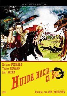 Run for the Sun [ NON USA FORMAT, PAL, Reg.0 Import   Spain ]: Richard Widmark, Trevor Howard, Jane Greer, Peter van Eyck, Juan Garc�a, Jos� Antonio Carbajal, Jos� Ch�vez, Guillermo Calles, Margarito Luna, Guillermo Bravo Sosa, Roy Boulting, CategoryClassi