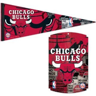 Wincraft Chicago Bulls Espn Pennant And Wood Sign : Sports Related Pennants : Sports & Outdoors