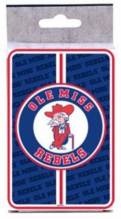 NCAA Ole Miss Rebels Bullseye Playing Cards : Sports Related Games : Sports & Outdoors