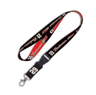NASCAR KEVIN HARVICK OFFICIAL LOGO LANYARD KEYCHAIN : Sports Related Key Chains : Sports & Outdoors