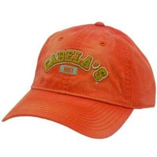 HAT CAP FOREMOST OUTFITTER CABELAS HUNTING CAMPING SHOOTING FISHING ORANGE GOLD : Sports Related Merchandise : Sports & Outdoors
