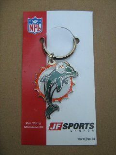 Miami Dolphins Logo Keychain JF Sports : Sports Related Key Chains : Sports & Outdoors