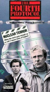 The Fourth Protocol [VHS]: Michael Caine, Pierce Brosnan, Ned Beatty, Joanna Cassidy, Julian Glover, Michael Gough, Ray McAnally, Ian Richardson, Anton Rodgers, Caroline Blakiston, Joseph Brady, Betsy Brantley, John Mackenzie, Frederick Forsyth, Timothy Bu