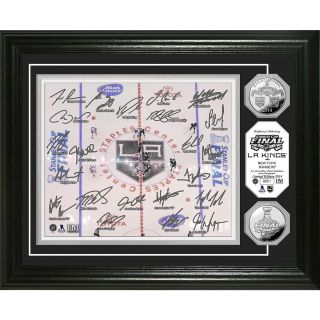THe Highland Mint Los Angeles Kings Signature Silver Coin Photo Mint
