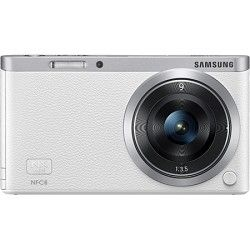 Samsung NX Mini Mirrorless Digital Camera with 9mm Lens   White