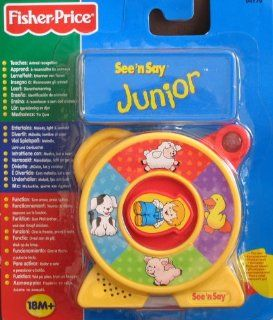 Fisher Price See 'n Say Junior   Animal Sounds: Toys & Games