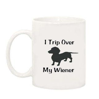 Dachsund Funny Saying Coffee Mug Black Text