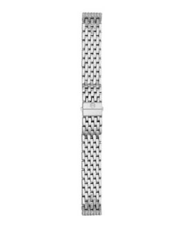 16mm Tapered Diamond Watch Bracelet   MICHELE   Gray (16mm ,6mm )