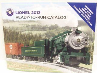 Lionel Ready to Run Catalog 2013: Toys & Games