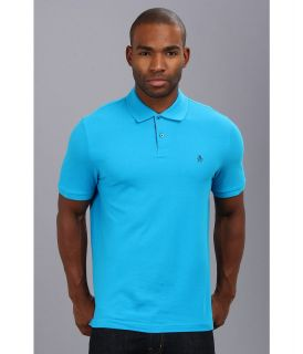 Original Penguin Daddy O Polo Mens Short Sleeve Pullover (Blue)