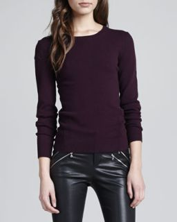 Womens Elena Relaxed Cashmere Sweater, Rajah   J Brand Ready to Wear   Rajah