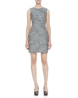 Womens Capreena Sleeveless Tweed Mini Dress   Diane von Furstenberg   Multi