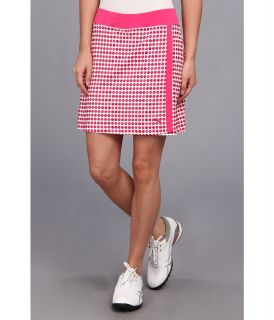 PUMA Golf Dot Pattern Skirt Womens Skort (Pink)