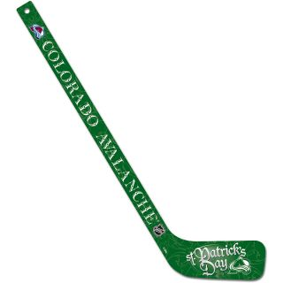 Wincraft Colorado Avalanche St. Patricks Day 21 Mini Hockey Stick (44533011)