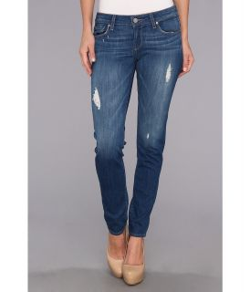 Paige Skyline Ankle Peg in Albany Womens Jeans (Blue)