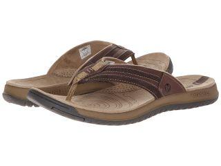 Merrell Traveler Tilt Flip Mens Sandals (Brown)