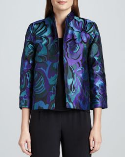 Emerald City Jacquard Jacket, Petite   Caroline Rose