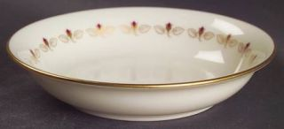 Lenox China Romance Fruit/Dessert (Sauce) Bowl, Fine China Dinnerware   Rosebuds