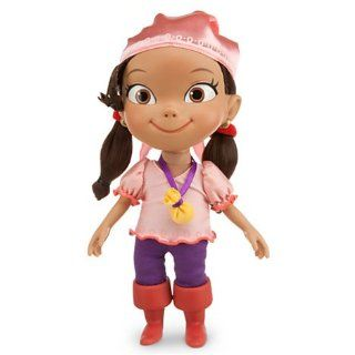 "Disney Talking Izzy Neverland Pirates Doll 12"" H   Says 14 Phrases: Toys & Games"