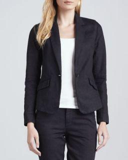Womens Azalea Twill Suit Jacket   Joes Jeans   Dk blue rinse (MEDIUM)