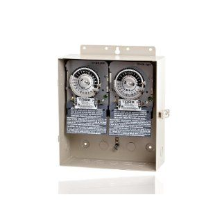 NSI Industries 1101D 1100 Series Same On/Off Times Each Day Swimming Pool Control Time Switch, Metal Indoor/Outdoor NEMA 3R Enclosure, 120 VAC Input Supply, SPST Output Contact: Electronic Component Switches: Industrial & Scientific