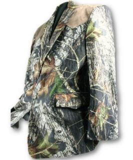 Mossy Oak Break Up Mens Camo Sport Jacket ~Same US Company For Duck Dynasty (60L, Mossy Oak New Break Up & Tan Yoke Blazer) at  Men�s Clothing store: