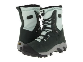Keen Wilma Lace Womens Cold Weather Boots (Green)