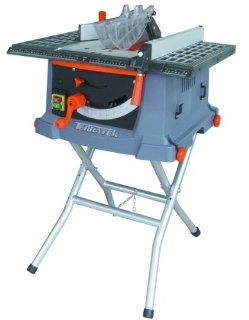 Terratek TTS10 Table Saw with Folding Leg Stand, 10 Inch   Table Saw Accessories