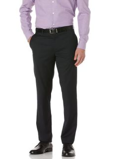 Perry Ellis Mens Slim Fit Mini Stripe Portfolio Pant