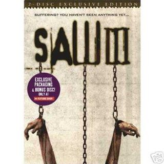 Saw III 2 Disc Exclusive Edition Very Rare!: Tobin Bell: Movies & TV